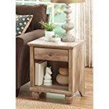 amazon com distressed nightstands bedroom furniture home