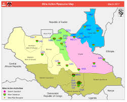 Resource Map Maps Unmas South Sudan