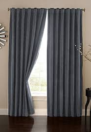 Single Blackout Curtain Amazon Com Absolute Zero 11718050x095stb Velvet Blackout Home
