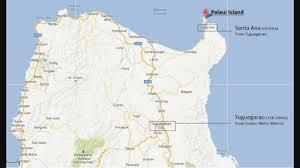 Ana Route Map Santa Ana Cagayan Palaui Island Paradise Deetrailove