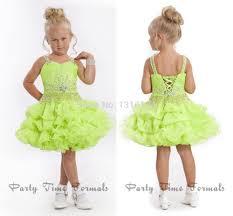 gorgeous cute lovely short lime green ball gown flower
