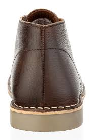 leather boots uk only gobi milled leather or brown mens lace desert chelsea