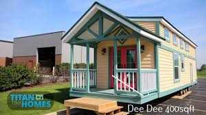 tiny house town dee dee from titan tiny homes