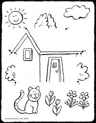house colouring 100 house colouring owl dreamcatcher coloring page from