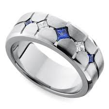 rings of men cool men s wedding rings for sports fanatics