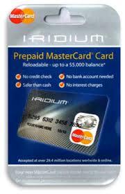 prepaid mastercard iridium prepaid mastercard toronto pre paid card money
