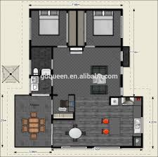 2 bedroom structural steel frame house 2d floor plans buy 2