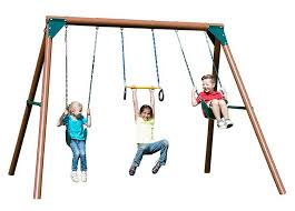 Swing Sets For Small Backyard by Kids Swing Sets For Small Yards Ultimate Outdoor Living