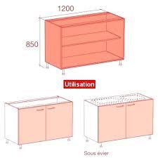 porte cuisine sur mesure caisson cuisine sur mesure meuble caisson bas largeur 120 porte