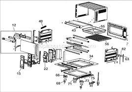 Breville Oven Toaster Breville Bov450xl Parts List And Diagram Ereplacementparts Com