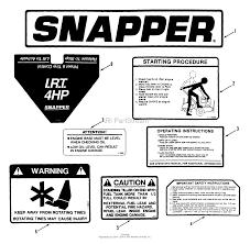 snapper ir4002b 85320 16 5