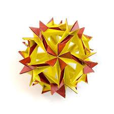 Origami Paper Works - 37 modular origami works by ekaterina lukasheva