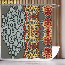 Orange And Blue Shower Curtain Blue Yellow Shower Curtain Promotion Shop For Promotional Blue