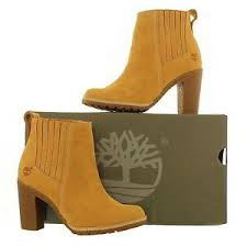 womens boots uk size 8 timberland a1682 glancy chelsea womens wheat leather ankle boots