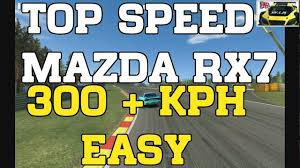 What Happened To The Mazda Furai Real Racing 3 Mazda Rx7 Easy Over 300 Kph Top Speed Rr3 Youtube