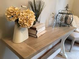 Farmhouse Console Table Farmhouse Console Table With Flowers Farmhouse Design And