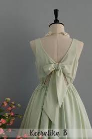 mint green dress pale green dress mint party dress backless