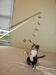 jaime of all trades diy cat halloween bat wand toy
