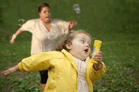 Running Girl Meme - running away from things