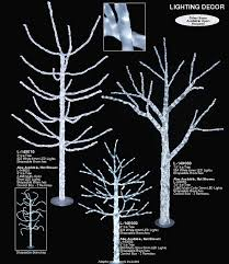 led light tree branches crystalline winter light trees artificial christmas trees