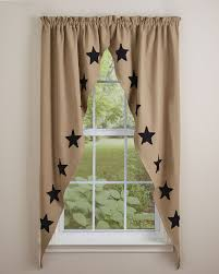 taupe u0026 star black lined romantic swag park designs pretty windows