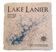 lake lanier map lake lanier coasters perdueosity