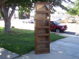 Globe Wernicke Bookcase 299 3 4 Wide 25 Inch Antique Lawyer Barrister Bookcase For Sale