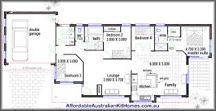 4 bed house plans exquisite 16 hillside 4 bedroom 2 living areas