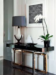 wall tables for living room how to decorate a living room with a modern console table regarding