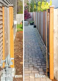 backyard transformation in tumwater ajb landscaping u0026 fence