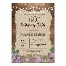 60th birthday party invitations 4700 60th birthday party