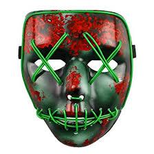 Led Halloween Costume Purge Election Led Light Mask Festival Halloween