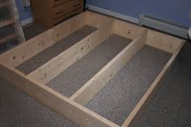 Platform Bed Frame Plans by Platform Bed Frame Diy Decorate My House