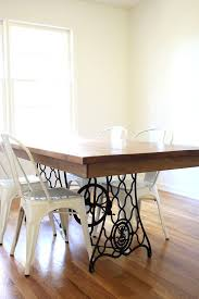 Diy Dining Room by Our Diy Dining Table From An Old Sewing Machine All Sorts Of