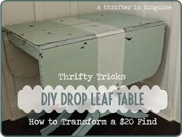 diy drop leaf table 15 jaw dropping craigslist makeovers idea box by krosiepowers drop