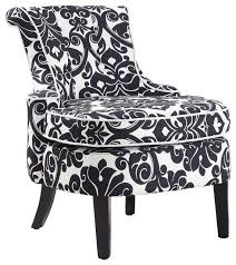 Black Arm Chairs Design Ideas Beautiful Black And White Accent Chair Powell Diana Arm Accent
