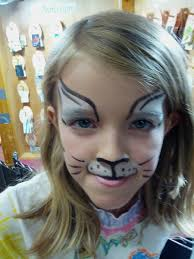 kids cat face paint 4f2236881fa7bac246413d3bc30e925d halloween