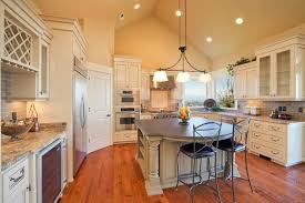 Lighting For Kitchen Ideas Cathedral Ceiling Kitchen Lighting Ideas Tags Rustic Kitchen Ideas
