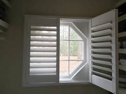 octagon window blinds modern home