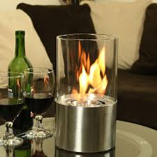 sunnydaze fiammata ventless tabletop fireplace bio ethanol modern