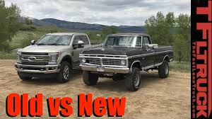 ford trucks 250 vs 1974 ford f 250 vs 2017 f 250 duty what s