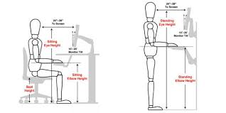 Height Of Office Desk Five Minute Upgrade Make Your Workstation More Ergonomic Ergonomic