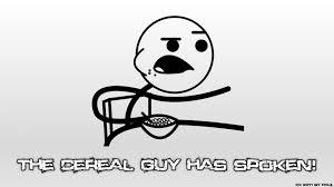 Meme Spitting Out Cereal - guy meme wallpaper