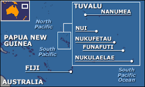 map of tuvalu news asia pacific sinking feeling in tuvalu