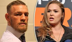 conor mcgregor hairstyles ufc ronda rousey takes shot at conor mcgregor over potential