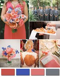 Coral Wedding Centerpiece Ideas by Cool Coral And Blue Wedding Decorations 75 About Remodel Wedding
