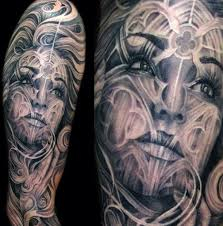 black and grey tattoos photos top 100 best sleeve tattoos for