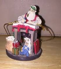 norman rockwell celebration of santa ornament santa