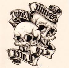 images of skull n bones tattoo sc