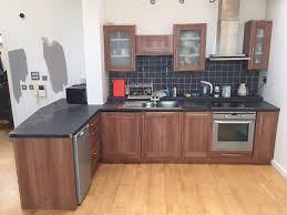 used b u0026q kitchen inc fridge freezer oven hob extractor